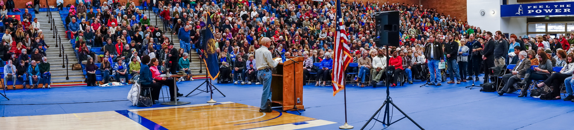 February 25, 2017 at Peter DeFazio's town hall