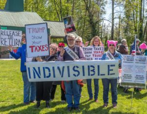 Eugene Tax Justice March